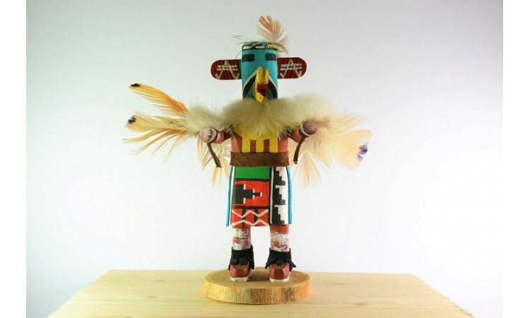 Eagle dancer Kachina doll