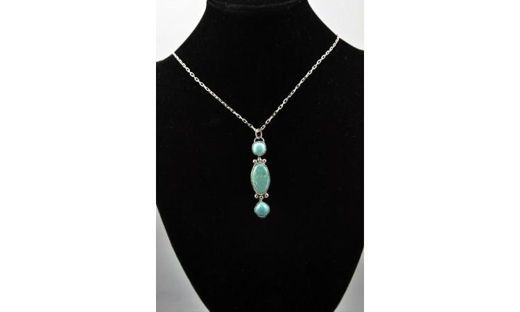 Collier turquoises royston