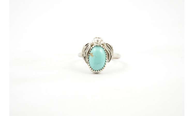 Bague turquoise royston