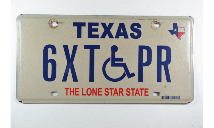 150 years of statehood texas license plate VMV-66C