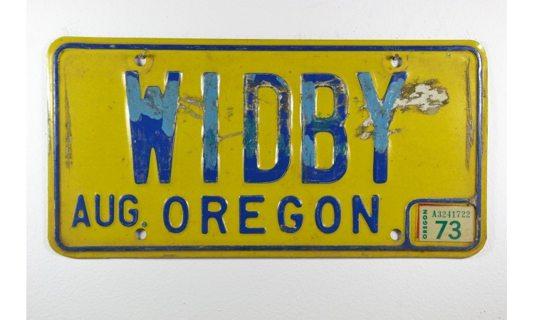 Year 1973 Oregon
