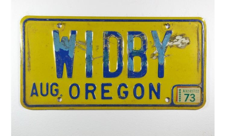 Année 1973 Oregon