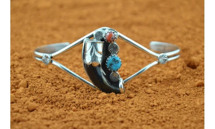 Bracelet griffe de coyote Ernest Hawthorne