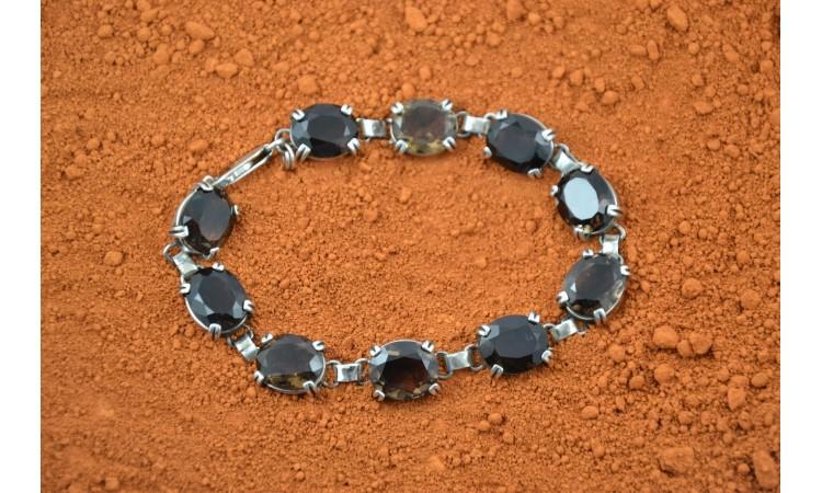 Smokie Topaze Navajo Bracelet