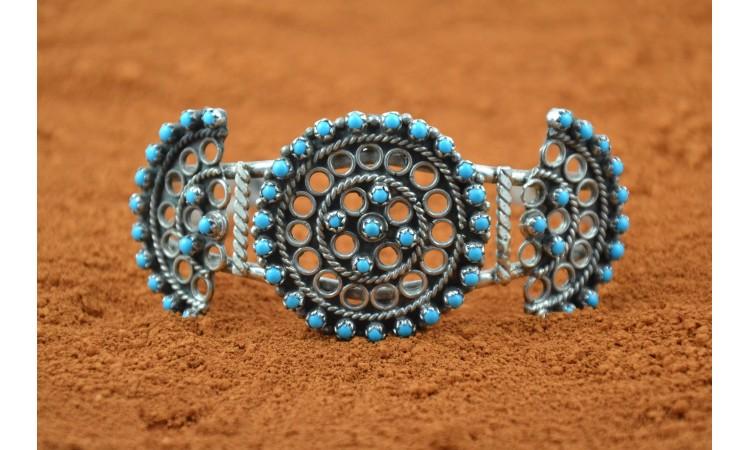 Zuni bracelet Camailio Martinez