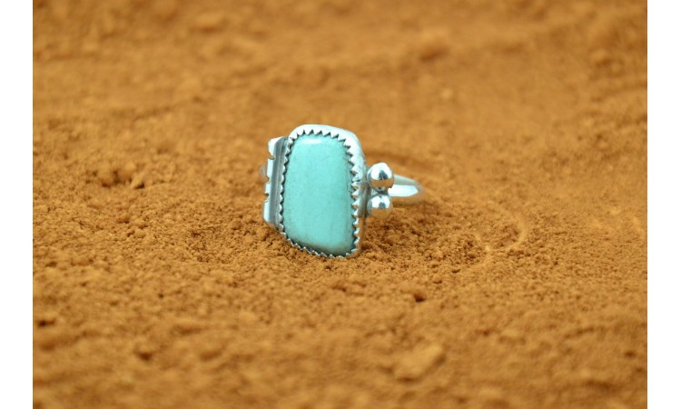 Bague amérindienne turquoise Royston taille 61