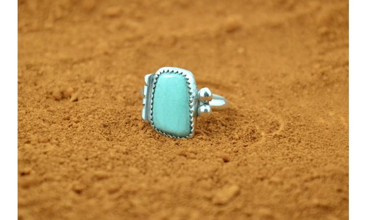 Royston turquoise Navajo ring size 9,5