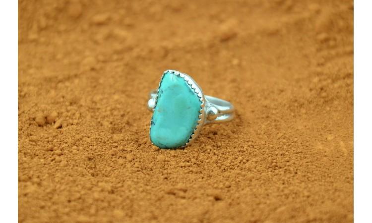 KIngman turquoise ring size 8