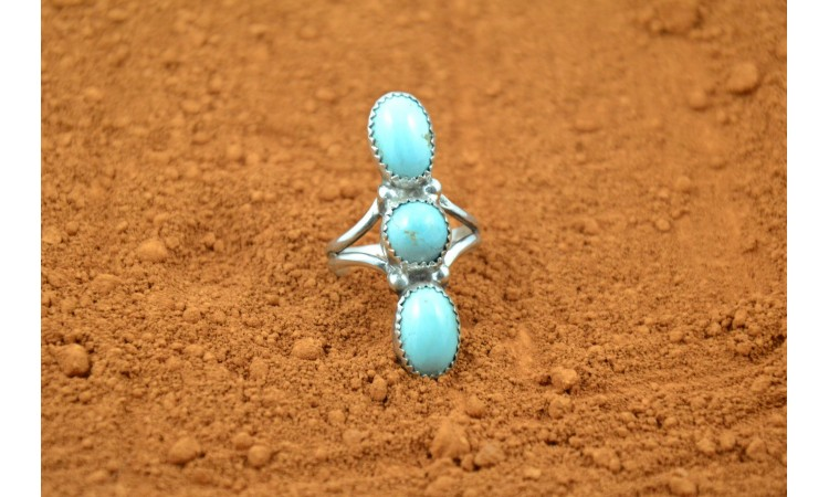 Turquoise native american ring