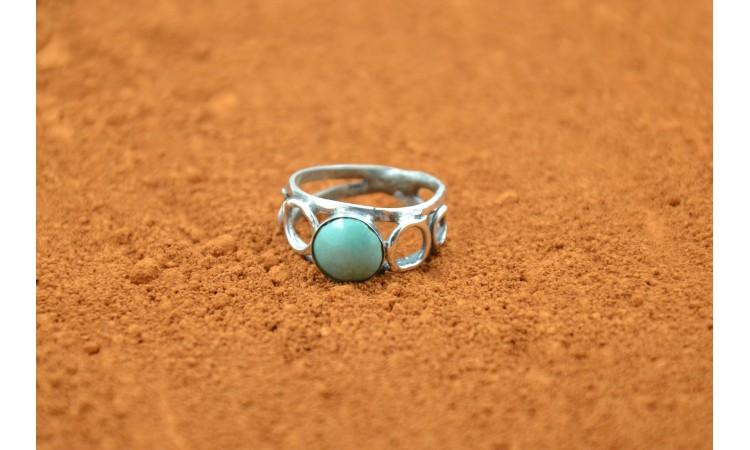 Royston Turquoise Ring Size 6