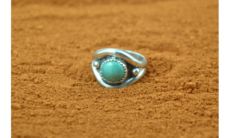 Native american ring size 7 3/4