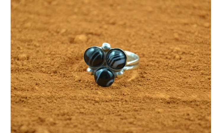 Bague onyx Taille 63