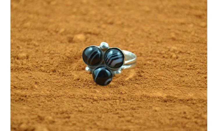 Onyx Ring Size 10,5