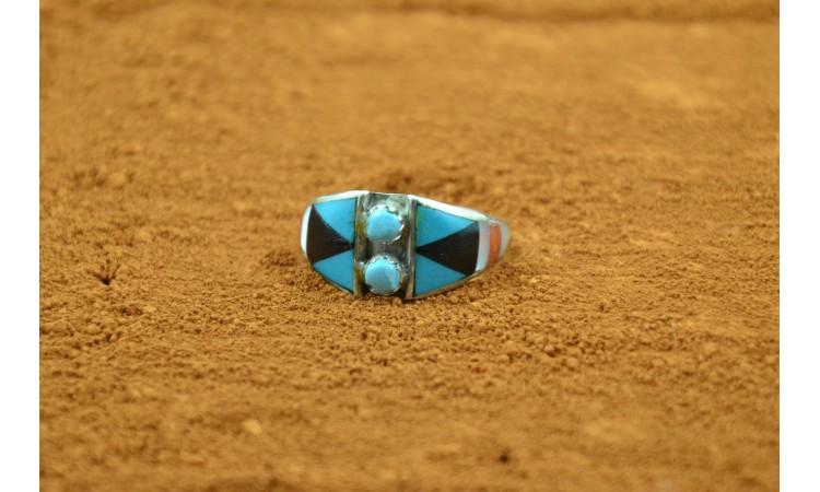 Zuni Ring size 8