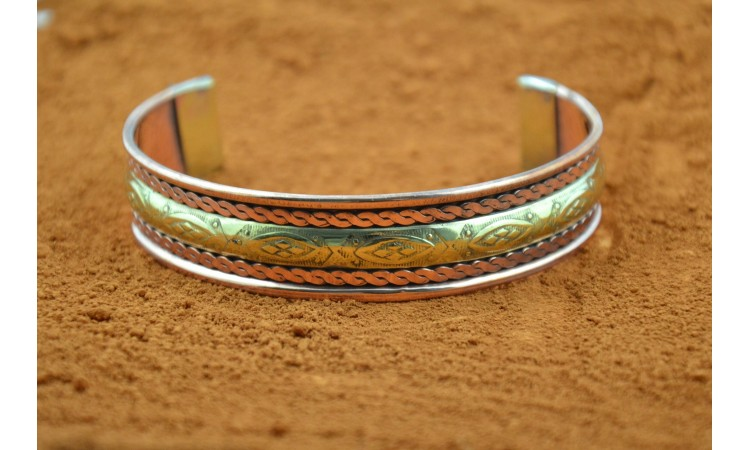 Copper and brass bracelet Las Cruces