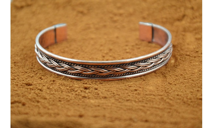 Copper bracelet Taos