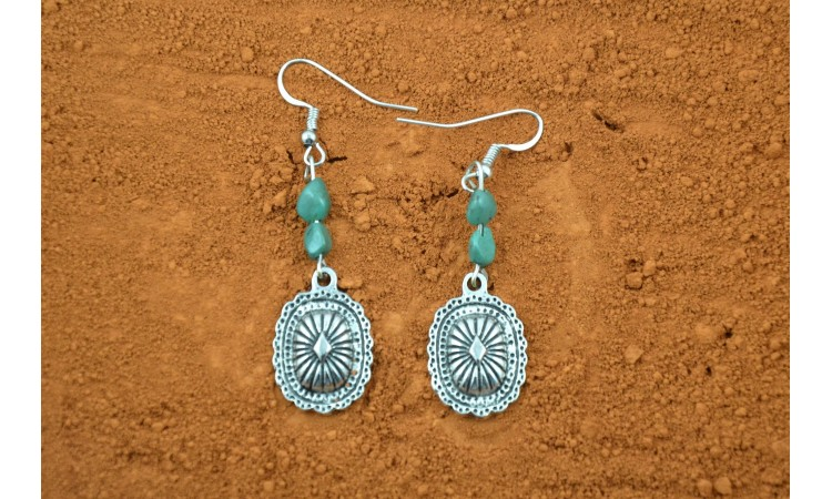 Magnesite Earrings Sandra Fransisco