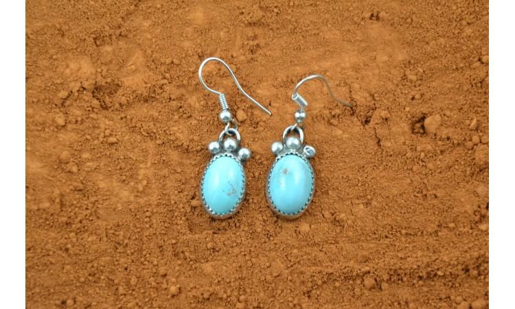 Boucles d'oreilles turquoise Royston