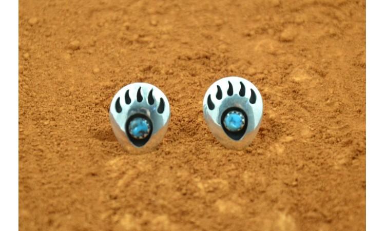 Boucles d'oreilles pattes d'ours Gaynell Parker