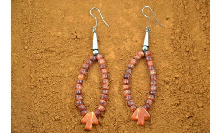 Boucles d'oreilles Navajo Spiny Oyster