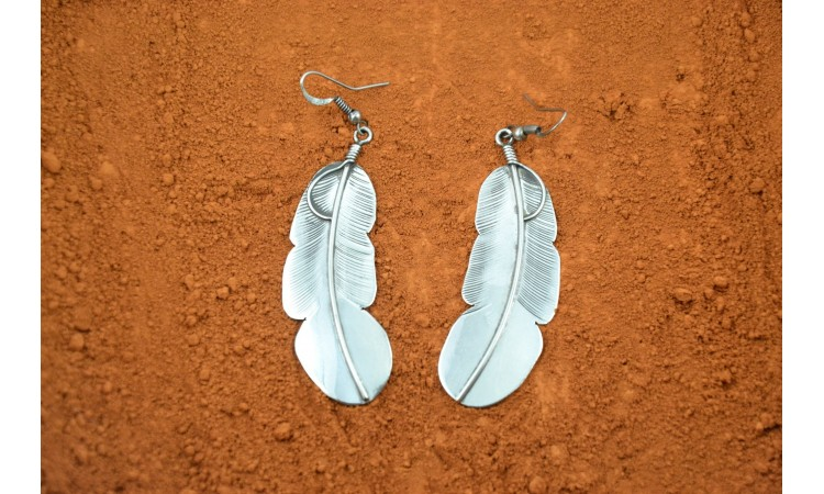 Navajo feathers Earrings