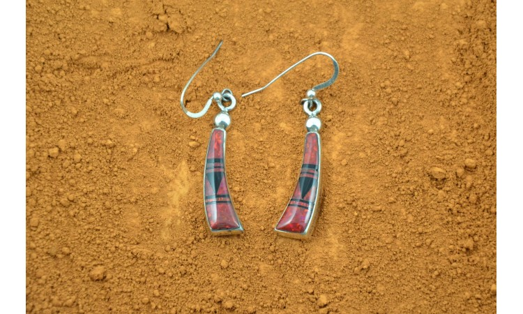 Navajo Earrings Albert Tsosie