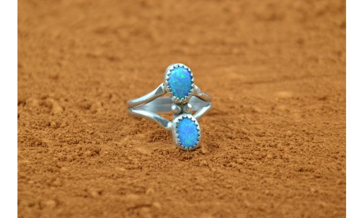 Native american opal ring