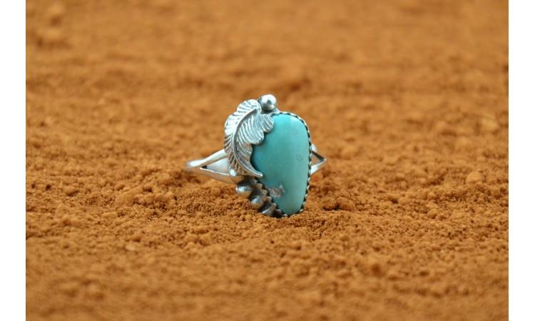 Royston turquoise ring