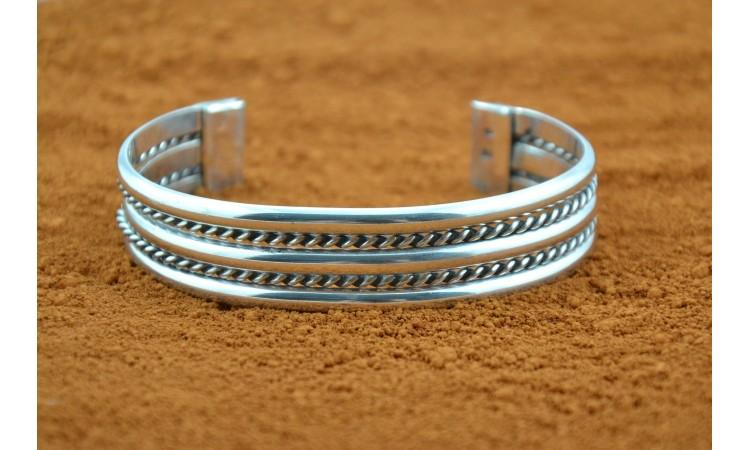 Five row bracelet