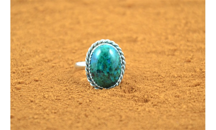 Bague chrysocolle
