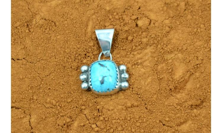 Royston turquoise pendant