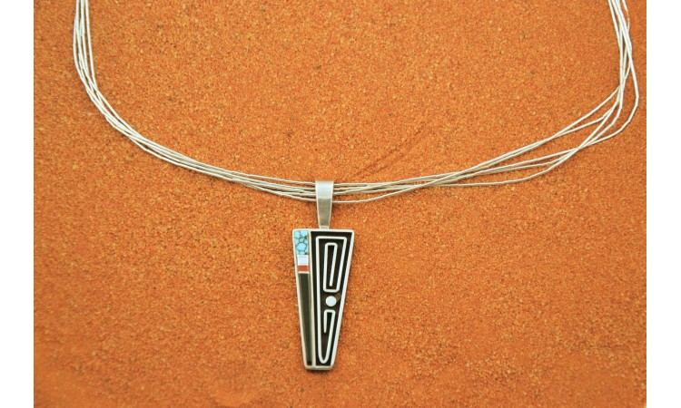 Navajo multistone Necklace-Albert Nells