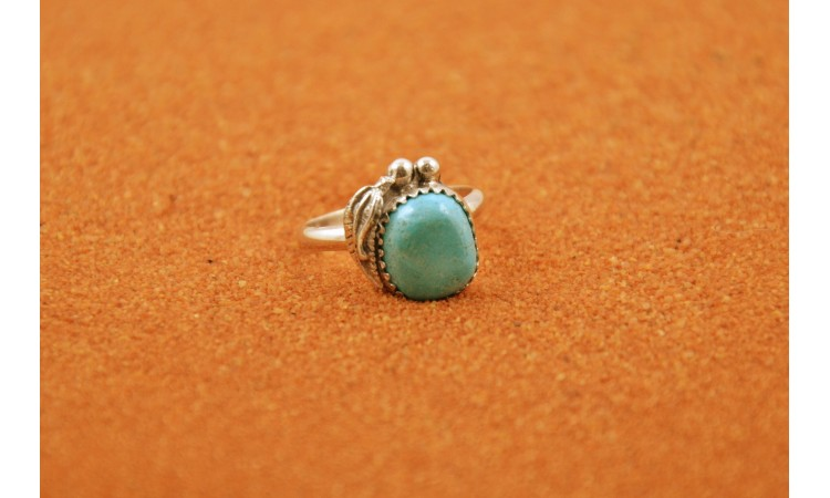 Turquoise Ring Size 6,5
