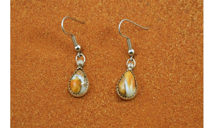 Boucles d'oreilles spiny oyster