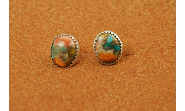 Mojave turquoise earrings