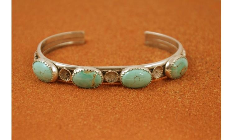 Royston turquoise bracelet