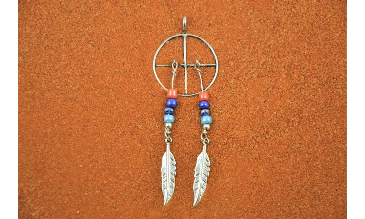 Medecine wheel pendant