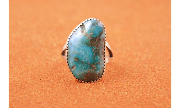 Iranian turquoise ring