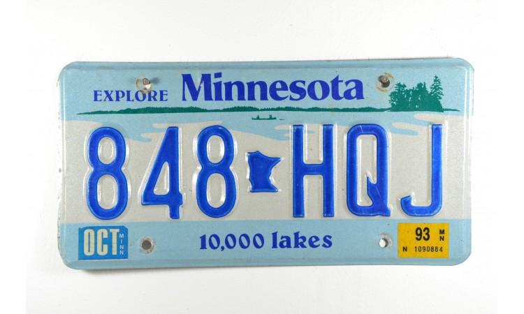 Year 1993 Minnesota