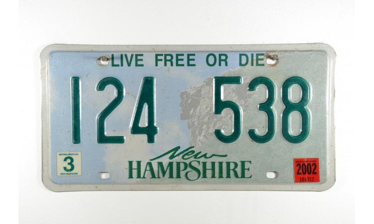 Année 2002 New Hampshire