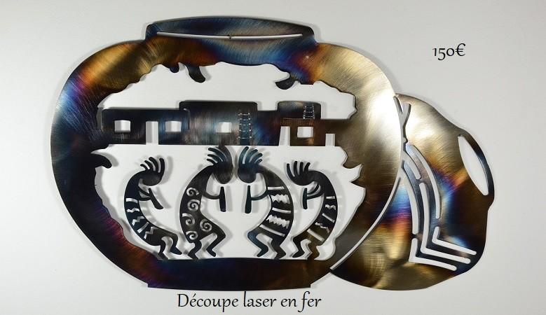 decoupe laser kokopelli
