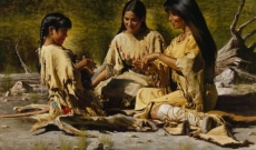 The Native American Woman